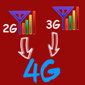3G to 4G Converter icon