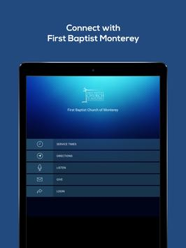 First Baptist Church Monterey apk screenshot