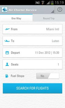 Air Charter Service–Jet Prices screenshot 1