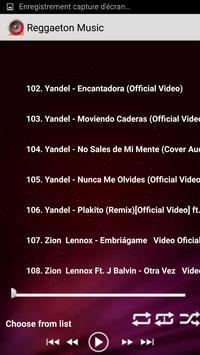 Top Reggaeton Musicas 2017 MP3 apk screenshot