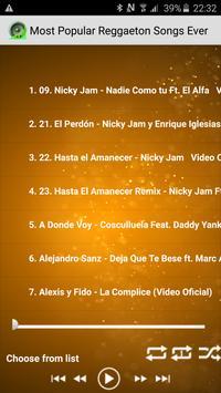 Popular Reggaeton Songs Ever poster