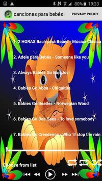 canciones para bebés 2017 poster