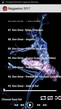 Top 100 Reggaeton Latin songs apk screenshot