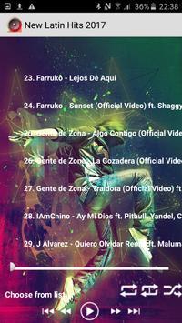 Best Latin Musicas 2017 Hits screenshot 2