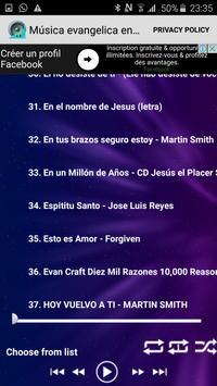 Música evangelica en español screenshot 1