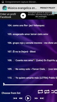 Música evangelica en español screenshot 3