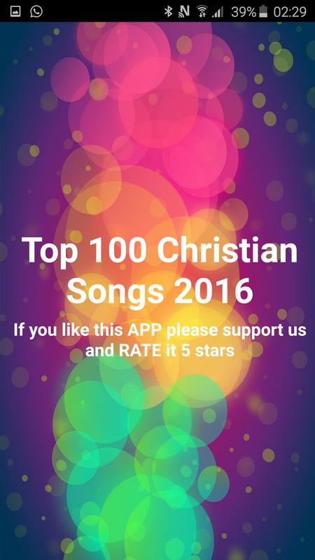 top 100 christian songs 2016 poster