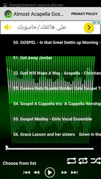 Almost Acapella Gospel Songs screenshot 3
