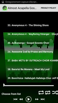 Almost Acapella Gospel Songs screenshot 2