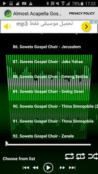 Almost Acapella Gospel Songs screenshot 4