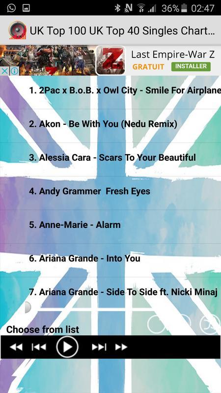uk official top 40 download