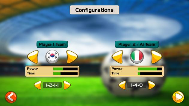 Finger Soccer Championship screenshot 1