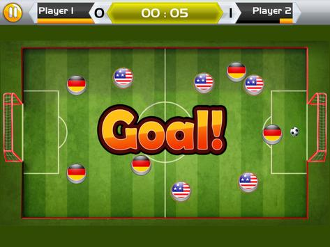 Finger Soccer Championship screenshot 4