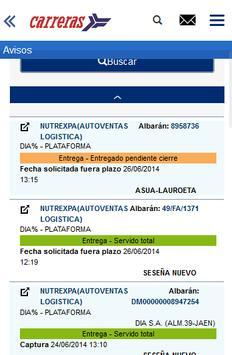 Carreras Portal Clientes screenshot 1