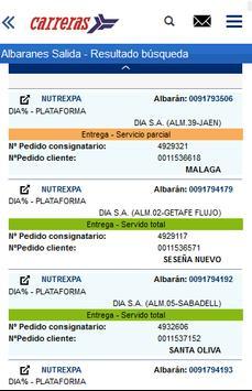 Carreras Portal Clientes screenshot 2