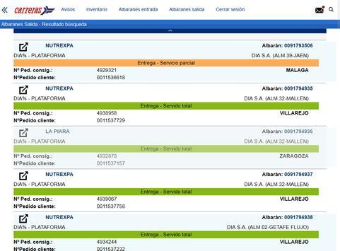 Carreras Portal Clientes screenshot 4