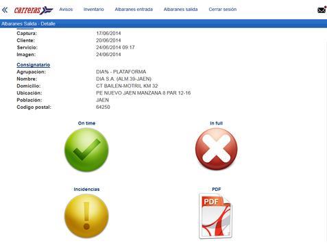 Carreras Portal Clientes screenshot 5