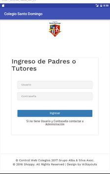 Colegio Mixto Santo Domingo screenshot 2