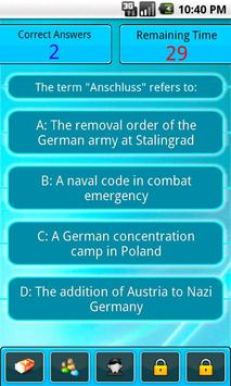 World War Trivia apk screenshot