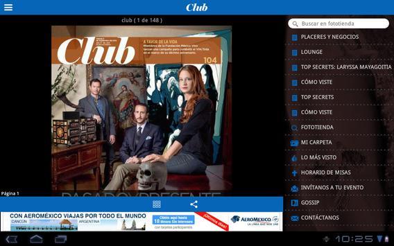 Club REFORMA apk screenshot