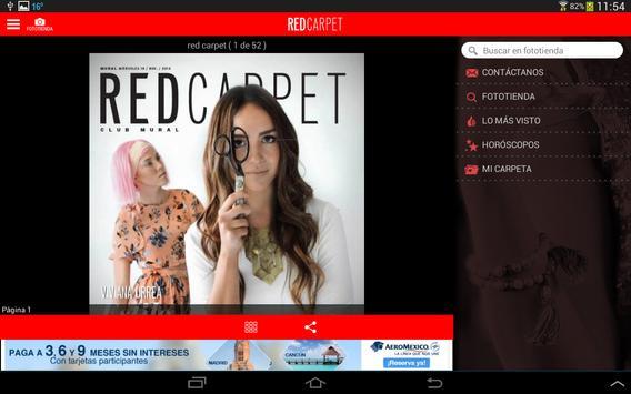 Red Carpet MURAL apk screenshot