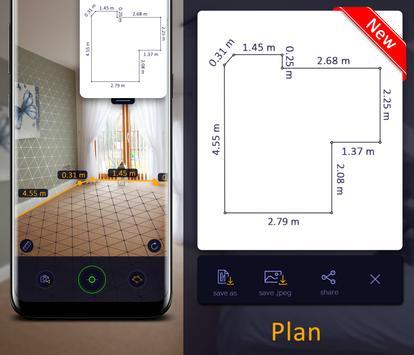 AR Ruler App – Tape Measure & Cam To Plan screenshot 1