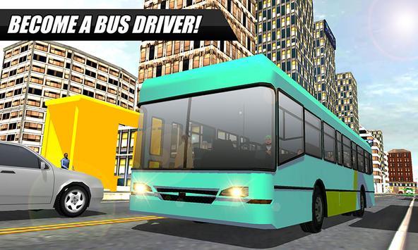 City Bus Simulator 2016 poster