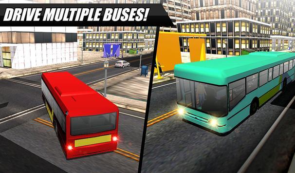 City Bus Simulator 2016 apk screenshot