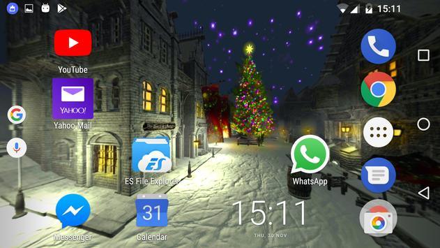 Christmas snowy Live wallpaper screenshot 4