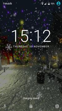 Christmas snowy Live wallpaper screenshot 5
