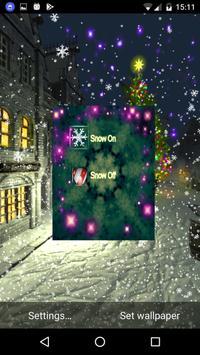 Christmas snowy Live wallpaper screenshot 2