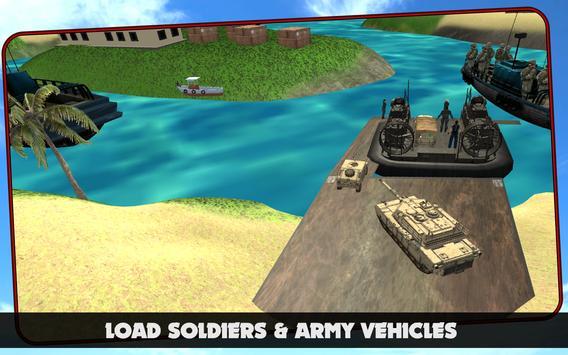 Cargo Ship : Army Battle War poster