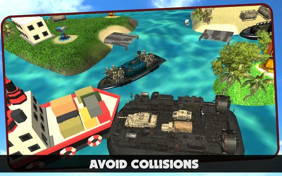 Cargo Ship : Army Battle War apk screenshot