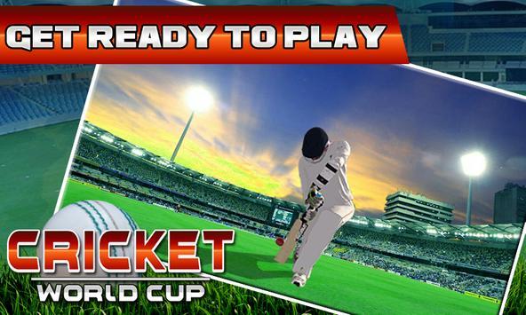 Cricket WorldCup Fever 2016 screenshot 1