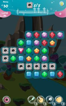 Jewel Worlds Aurora  | Jewel Puzzle Game 2019 screenshot 3
