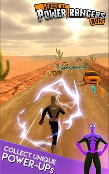 League of Power Hero Rangers - Hero Endless Runner apk screenshot