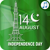 Audio mp3 Ringtones & Sounds (Jashn e Azadi Songs) icon