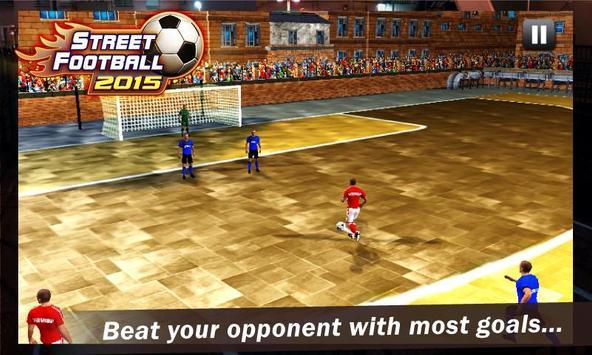 Street Football 2015 apk screenshot