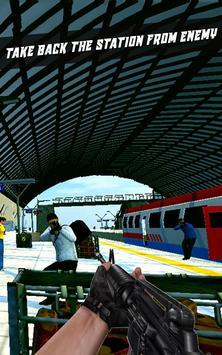 Train Hero Commando Shooter apk screenshot