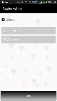 Reptor Admin apk screenshot