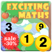 Maths for kids icon