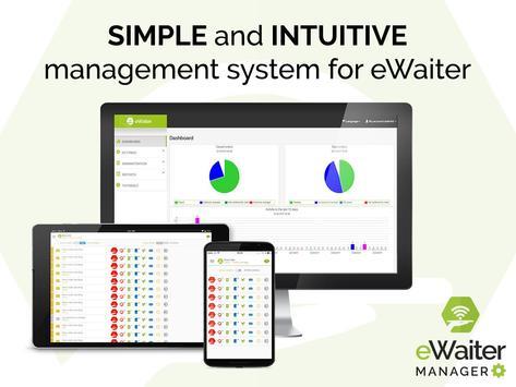 eWaiter Manager poster