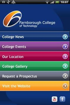 Farnborough College poster