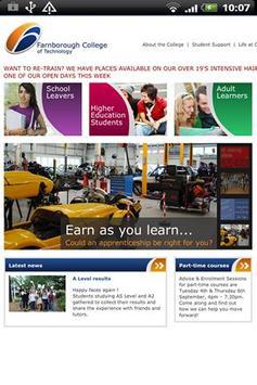 Farnborough College apk screenshot