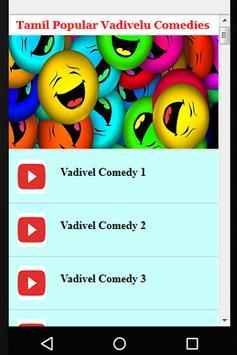 Tamil Popular Vadivelu Comedies poster
