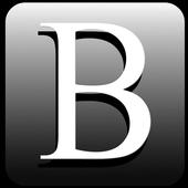 Black Google Search icon
