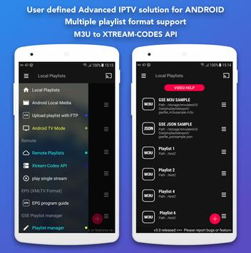 GSE SMART IPTV apk screenshot