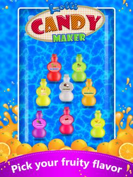 Lolli Candy Maker Pop Fun screenshot 1