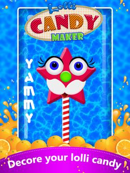 Lolli Candy Maker Pop Fun screenshot 4