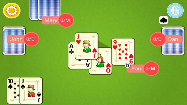 Euchre Mobile apk screenshot